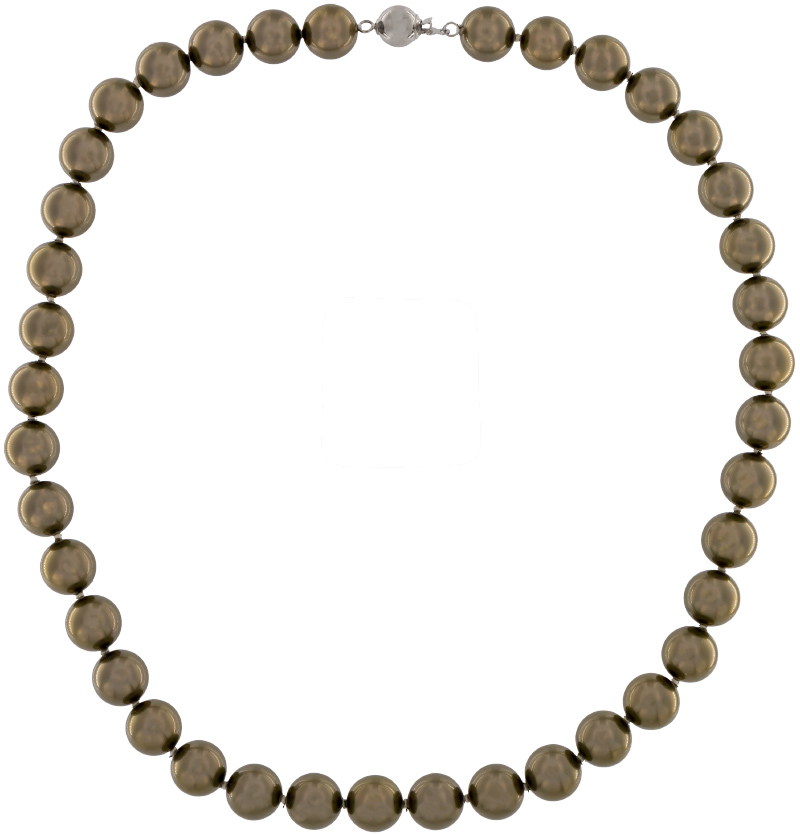 Perlmutt ist ein Wunder der Natur und nur sehr selten vorkommend. Jede Kette ist somit in Unikat für sich. Perlenkette ünterstützt die Form und die Kette passt sich perfekt der Halsform an. Egal was immer Sie tragen, ob elegant, leger oder festlich. Spinell harmoniert immer mit Ihrer Garderobe.